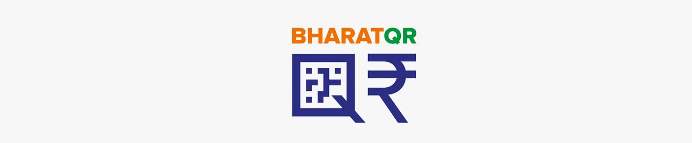 Bharat QR No Cash Online Transfer Mobile Banking