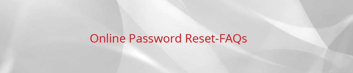 Online Password Reset FAQ LV Bank