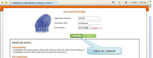 Downloading-Certificate